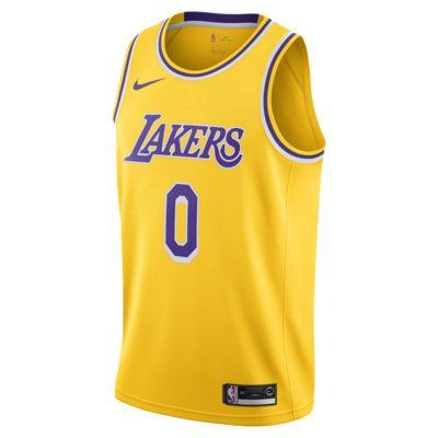 brand new f796b f32c2 洛杉矶湖人队 (Kyle Kuzma) Icon Edition Swingman Jersey Nike NBA Connected Jersey  男子球衣