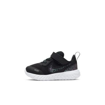 Купить Кроссовки для малышей Nike Revolution 5 Rebel, Черный/Светлая морская волна/Светлая волна/Антрацитовый, 23818323, 12726565