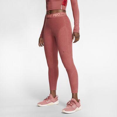 Nike Pro HyperWarm tights i velur til dame