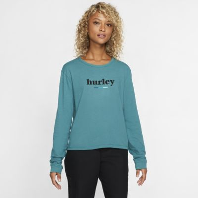 Hurley Pompel Perfect Women's Long-Sleeve T-Shirt