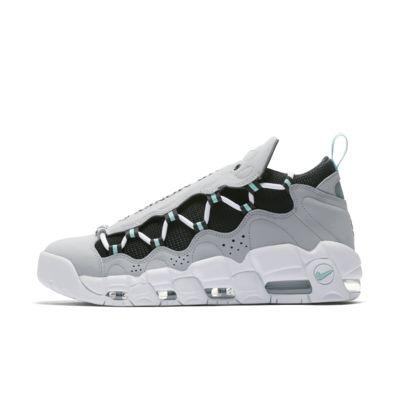 Мужские кроссовки Nike Air More Money, Темно-серый/Черный/Зеленый остров, 21038358, 12117437  - купить со скидкой