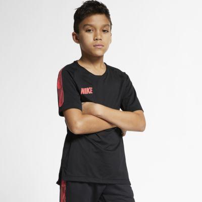 Nike Breathe Squad Kurzarm-Fußballoberteil für ältere Kinder