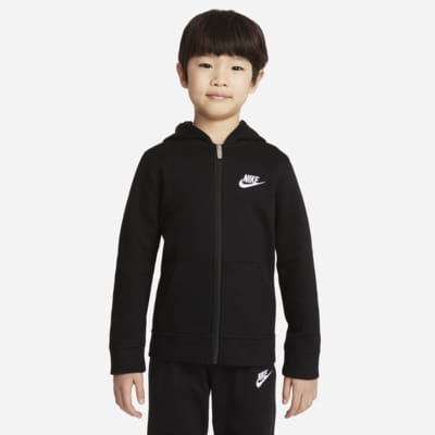 Nike Sportswear Club Fleece Younger Kids' Full-Zip Hoodie