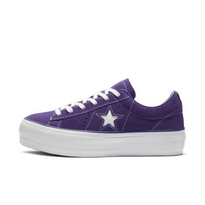 Converse One Star Platform Suede Low Top Women's Shoe