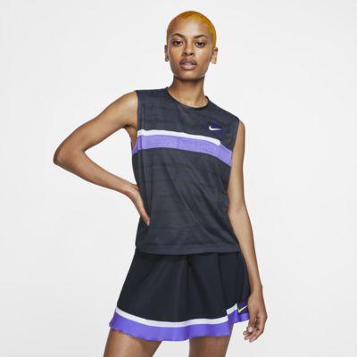 Canotta da tennis NikeCourt Slam - Donna