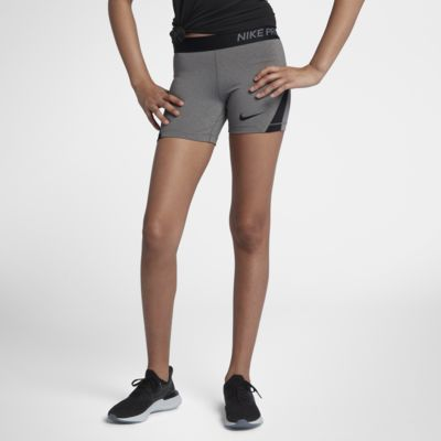 "Nike Pro Big Kids' (Girls') 4"" Training Shorts"