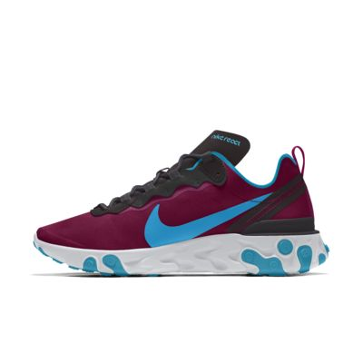 Nike React Element 55 By You Custom lifestyleschoen voor dames