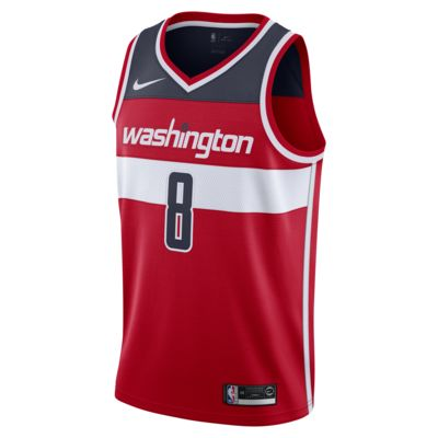 Rui Hachimura Wizards Icon Edition Swingman Nike NBA-jersey voor heren