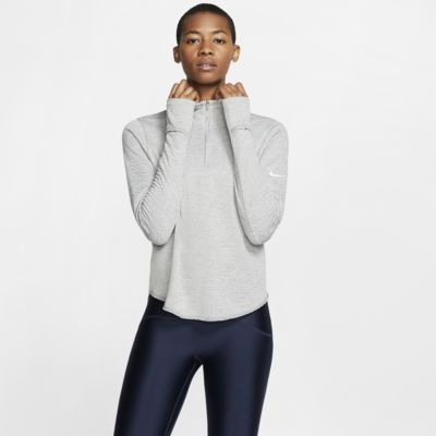 Nike Sphere-løbetop med lynlås i halv længde til kvinder