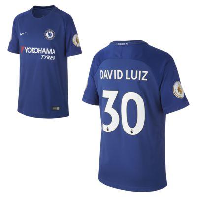 Купить Футбольное джерси для школьников 2017/18 Chelsea FC Stadium Home (David Luiz)