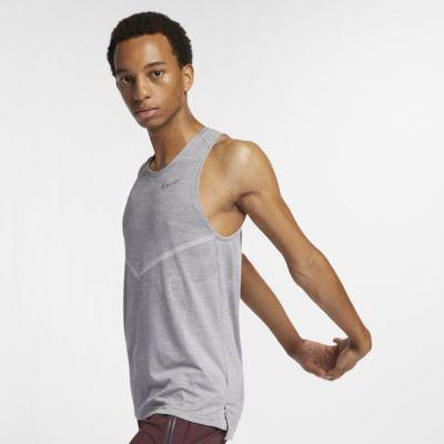 Camiseta de tirantes de running para hombre Nike TechKnit Cool