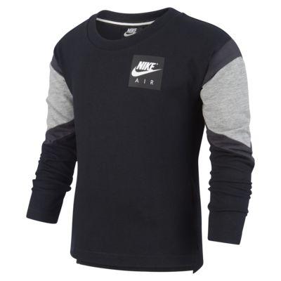 Långärmad tröja Nike Air för små barn