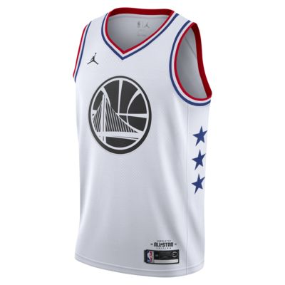 Мужское джерси Jordan НБА Stephen Curry All-Star Edition Swingman с технологией NikeConnect