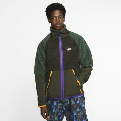 Jacka i sherpamaterial Nike Sportswear för män