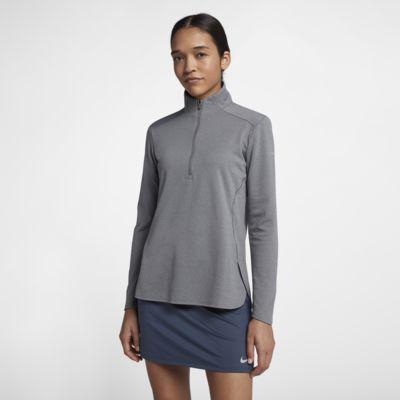 Dámské golfové tričko s dlouhým rukávem Nike Dri-FIT