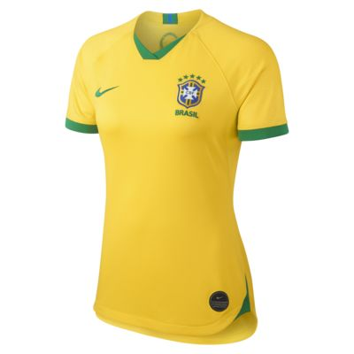 Brazil CBF Stadium 2019 Women's Home Shirt