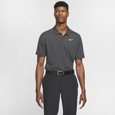 Golfpikétröja Nike Dri-FIT TW med ränder för män