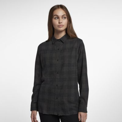 Hurley Wilson Women's Long Sleeve Flannel