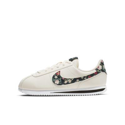 Sko Nike Cortez Basic Vintage Floral för ungdom