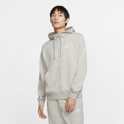 Męska bluza z kapturem i zamkiem na całej długości Nike Sportswear Club