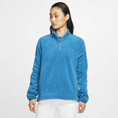 Nike Therma Victory Yarım Fermuarlı Kadın Golf Üstü