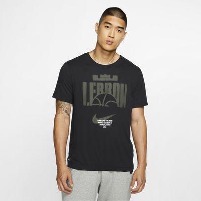 Basket-t-shirt Nike Dri-FIT LeBron för män