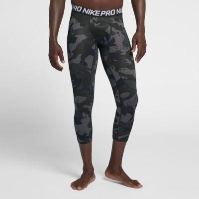 Nike Pro Men's 3/4 Camo Tights