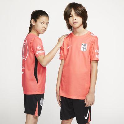 Kortærmet Nike Dri-FIT Neymar Jr.-fodboldtrøje til store børn
