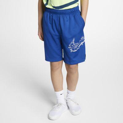 Nike Dri-FIT 大童 (男童) 圖案訓練短褲