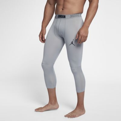 Jordan Dri Fit 23 Alpha Men's 3/4 Training Tights. Nike.Com by Nike