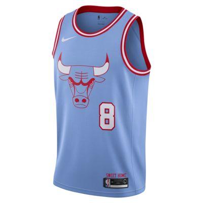 Zach LaVine Bulls – City Edition Nike NBA Swingman Jersey