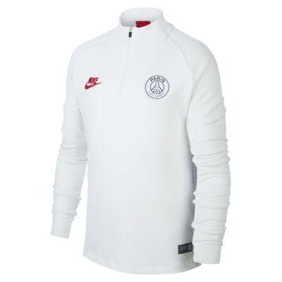 Treningowa koszulka piłkarska dla dużych dzieci Paris Saint-Germain Strike
