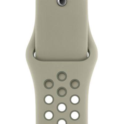 40mm smrkově šedý/ lišejníkově šedý sportovní řemínek Nike (S/M a M/L)