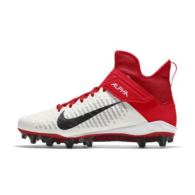 Nike Alpha Menace Pro 2 Mid By You personalisierbarer Herren-Fußballschuh