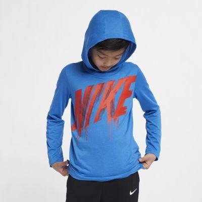 Nike Breathe Big Kids' Long-Sleeve Hooded Training Top