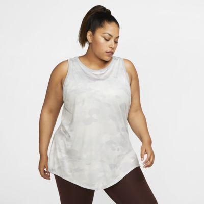 Nike Dri-FIT Women's Camo Training Tank (Plus Size)
