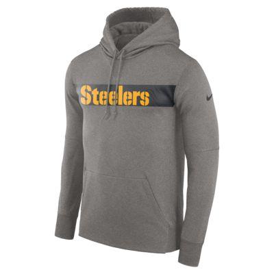 Sudadera con capucha sin cierre para hombre Nike Dri-FIT Therma (NFL Steelers)