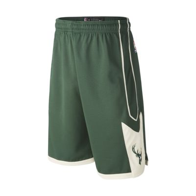 Milwaukee Bucks Nike Icon Edition Swingman Pantalón corto de la NBA - Niño