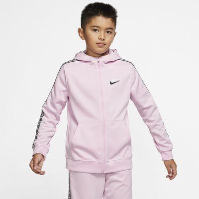 Μπλούζα με κουκούλα και φερμουάρ Nike Sportswear για μεγάλα παιδιά