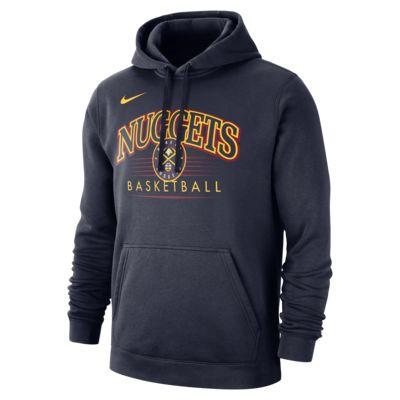 Sweat à capuche NBA Denver Nuggets Nike pour Homme