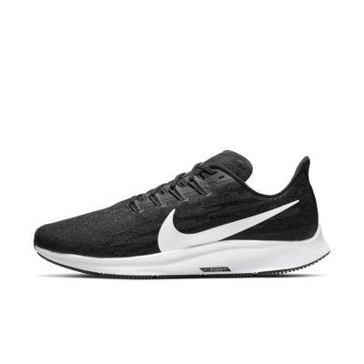 Купить Мужские беговые кроссовки Nike Air Zoom Pegasus 36 (на очень широкую ногу), Черный/Thunder Grey/Белый, 22833069, 12543566