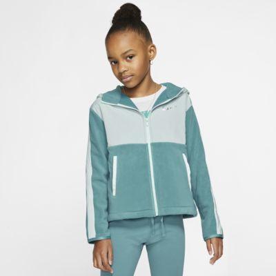 Nike Therma Big Kids' (Girls') Full-Zip Training Hoodie
