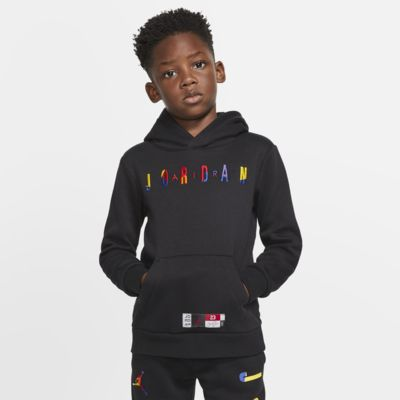 Air Jordan Fleece-Hoodie für jüngere Kinder