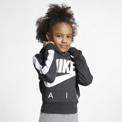 Nike Air Big Kids' (Girls') Cropped Hoodie