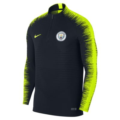 Manchester City FC VaporKnit Strike Drill Men's Long-Sleeve Football Top