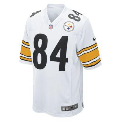 Camiseta de fútbol americano de Pittsburgh Steelers (Antonio Brown) de la NFL de visita para hombre