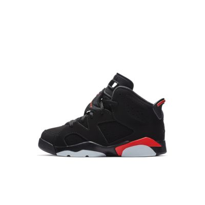 Air Jordan Retro 6 (10–2.5) Younger Kids' Shoe