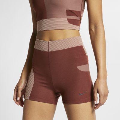 Купить Женские шорты Nike Pro HyperCool 8 см, Pueblo Brown/Розовое золото/Черный, 22947802, 12562183