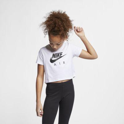 Nike Air Big Kids' (Girls') Crop Top