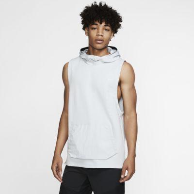 Prenda para la parte superior de entrenamiento sin mangas con capucha para hombre Nike Therma Tech Pack